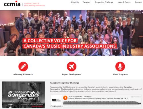 CCMIA Launches New Website
